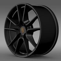Porsche 911 Carerra Exclusive rim 3D Model