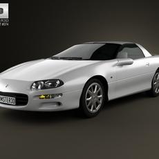 Chevrolet Camaro coupe 2000 3D Model