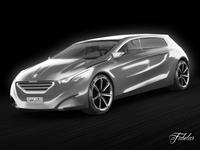 Peugeot HX1 3D Model