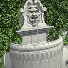 Fountain9 3D Model