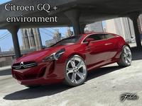 Citroen GQ Concept 2.0 3D Model