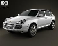 Porsche Cayenne S 2003 3D Model