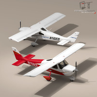 C162 Skycatcher 3D Model