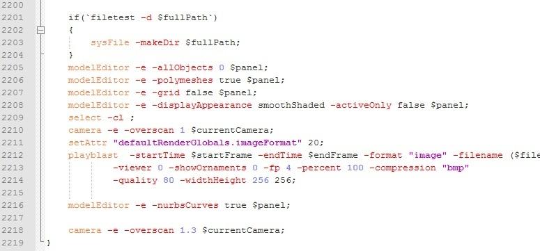 MEL2013 XML For Notepad++ (Maya 2013 Commands - Flag Detected) for Maya