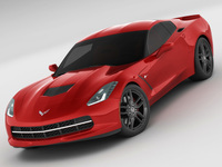 Chevrolet Corvette C7 Stingray MY2014 3D Model