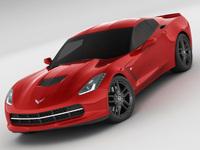 Chevrolet Corvette C7 Stingray MY2014 3D Model