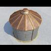 07 39 50 155 smalloldgrainbin exterior11 wireframe 4