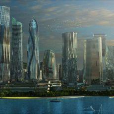 The Paradise Islands 3D Model