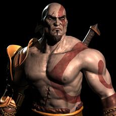 God Of War - Kratos 3D Model