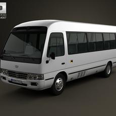 Toyota Coaster B50 2012 3D Model