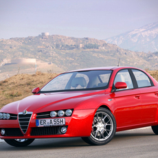 Alfa Romeo 159 sedan 3D Model