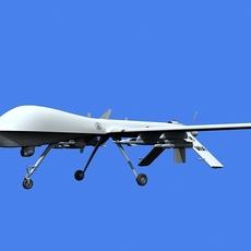 MQ-1 Predator (UAV) 3D Model