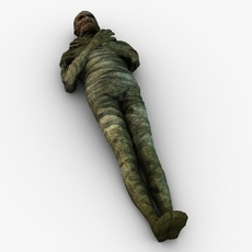 Mummy character 3D Model