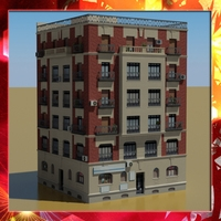 Building 28 3D Model