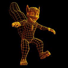 Wireframe render script for Maya 1.0.0 (maya script)