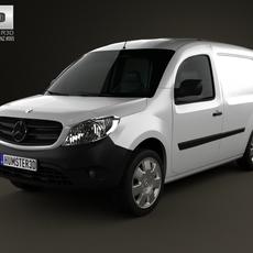 Mercedes-Benz Citan Panel Van 2012 3D Model