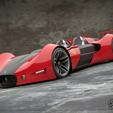 Ferrari Celeritas 3D Model