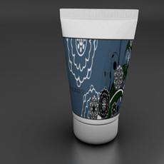 squeeze tube bottle 3D Model