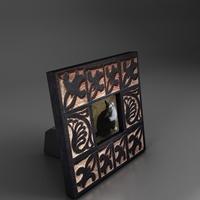 small stending photo frame 2 3D Model
