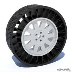 Airless Tire 3D Model