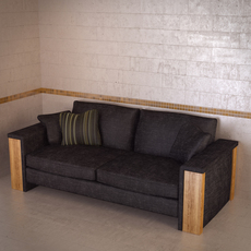 FrommHolz Montana sofa 3D Model