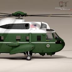 VH-3D Marine One 3D Model