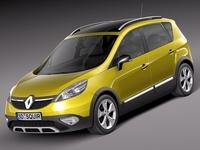 Renault Scenic Xmod 2014 3D Model