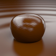 Bonbon of Chocolate 3D Model