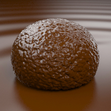 Bonbon of Chocolate (2) 3D Model