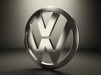 Volkswagen Logo 3D Model