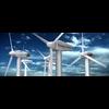 Wind Eolic Turbine 3D Model