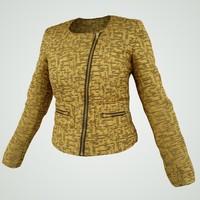 Golden Vest 3D Model