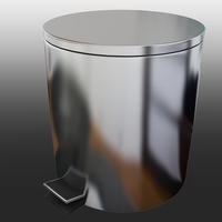 Bathroom trash can 3D Model