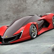 Ferrari Impronta concept 3D Model