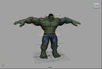 Free Hulk Rig for Maya 0.1.0