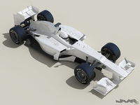 Generic F1 2013 Race Car	 3D Model