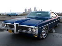 Pontiac Bonneville 2 door 1968 3D Model