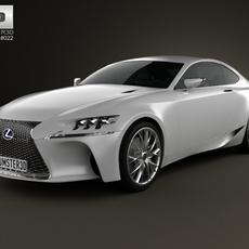 Lexus LF-CC 2012 3D Model