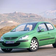 Peugeot 307 3 door 3D Model