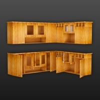 Cupboard of Corner 3D Model