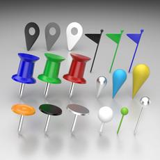 Pins 3D Model
