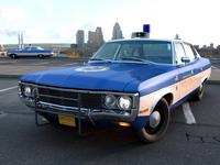 AMC Matador Police 1972 3D Model