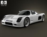 Ultima GTR 2009 3D Model