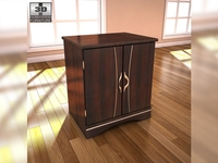 Ashley Julianna Nightstand 3D Model