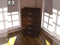 Ashley Julianna Chest 3D Model