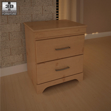 Ashley Nightstand 3D Model