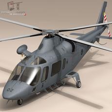 AW109LUH New Zealand 3D Model