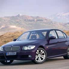 BMW 3 Series e90 sedan 3D Model