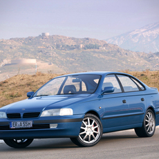 Toyota Carina E hatchback t19 3D Model