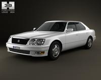 Lexus LS (XF20) 1997 3D Model